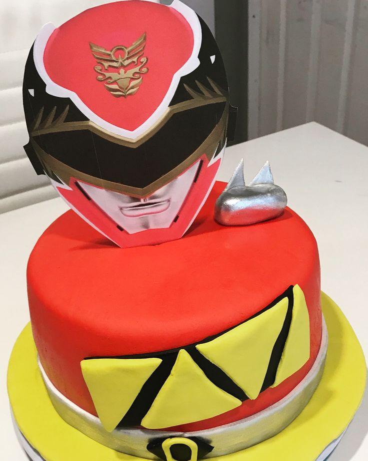 Powe Rangers Cake