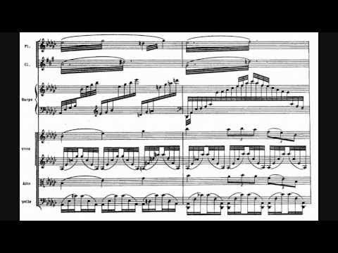 Ravel - Introduction et allegro pour harpe, flûte, clarinette et quatuor à cordes (1905)