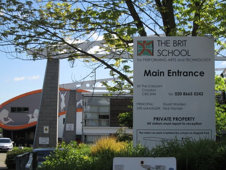 The Brit School - Amy Winehouse, Adele, Katy B., Imogen Heap and Kate Nash all attended