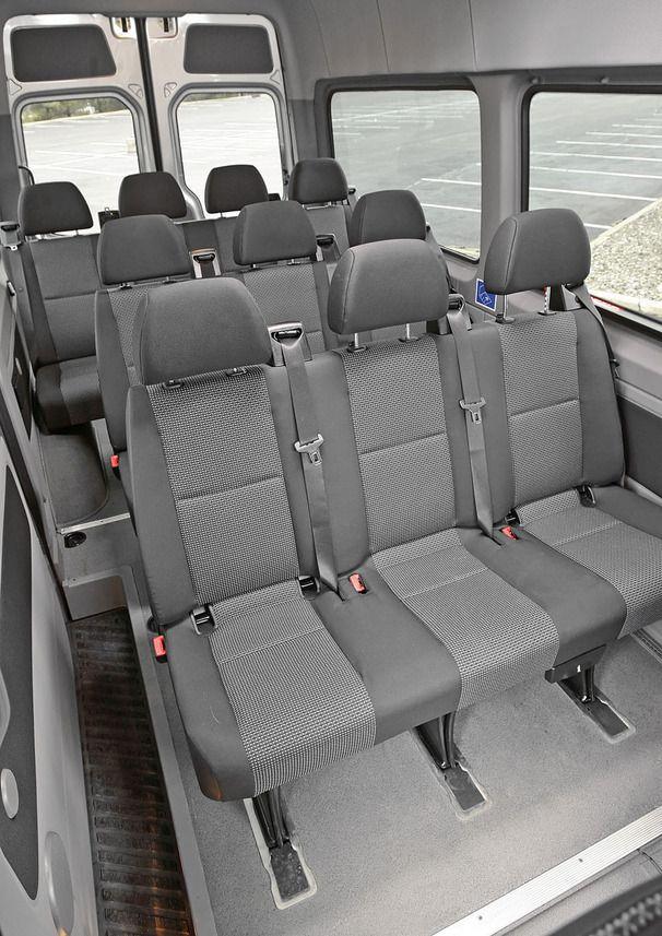 Mercedes Sprinter 2500 Passenger Van Interior