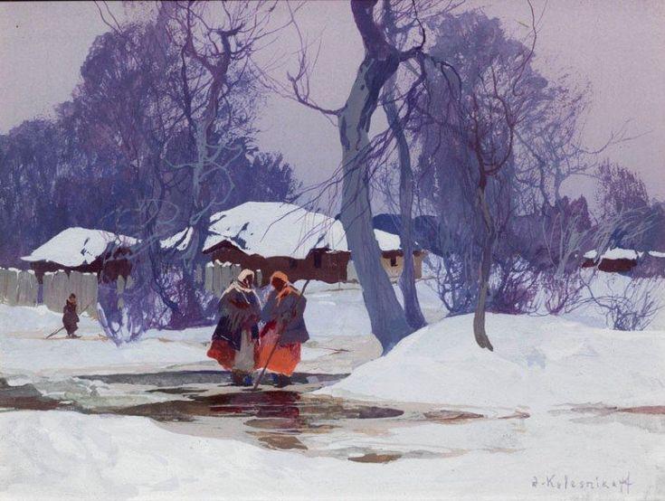 Картины Степана Колесникова Искусство