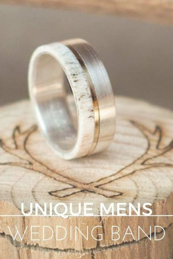 Huge Guide To Unique Mens Wedding Bands 35 Styles Weddingrings Mens Wedding Bands Unique Mens Wedding Bands Mens Wedding Rings