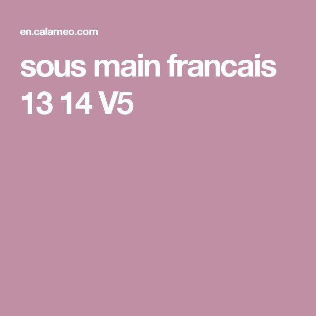 Sous Main Francais 13 14 V5