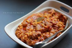 Samp and Beans (Isitambu) Zulu Style | My African Food Map
