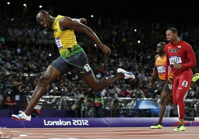 The best that's ever lived: Usain Bolt claimed gold again [9.63 seconds, new Olympic record in mens 100m]
