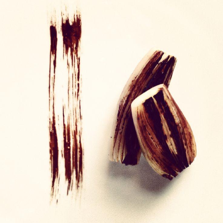 #Calligraphy Onion and Balsamico #Food #art