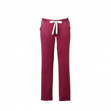 MAXOU Pantalon satin rouge | RougeGorge
