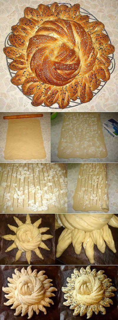 Украшаем хлеб - Страница 2 : Хлеб, батоны, багеты, чиабатта   выпечка   Постила