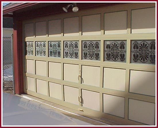 This Garage Door Assumed A Whole New Personality With The Addition Of  Etched Windows.