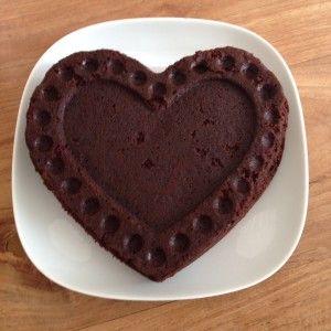 suikervrije, zuivelvrije en glutenvrije chocoladecake (ipv eieren, appelmoes)