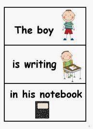 Classroom Freebies Too: Winter Sentences using Sentence Frames.