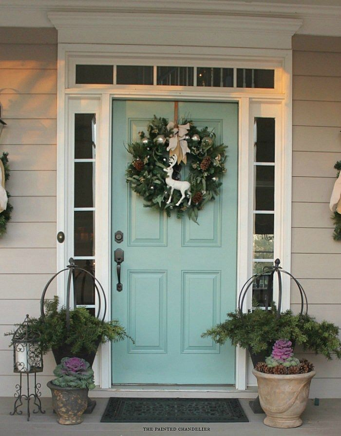 Doors Medium And Ideas: Green Front Doors, Aqua Front