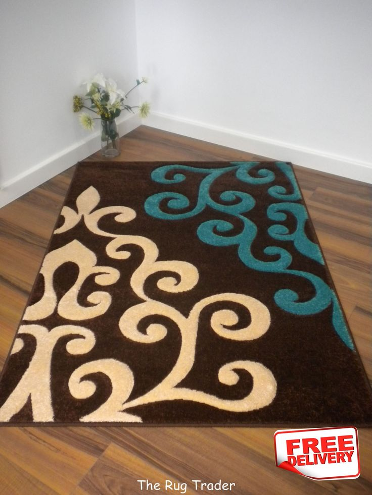 brown and turquoise rug - Google Search