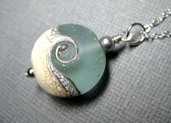 Inspo from our friends! Beach jewelry Ocean jewelry Beach necklace by JewelrybyDorothy