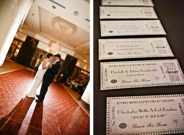 Jen & Henry's Old Hollywood-inspired with a touch of Assyrian wedding | Offbeat Bride