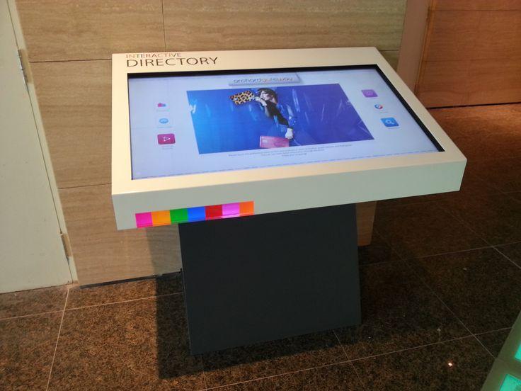 #DigitalSignage Http://www.moderne Buerowelten.de/digital