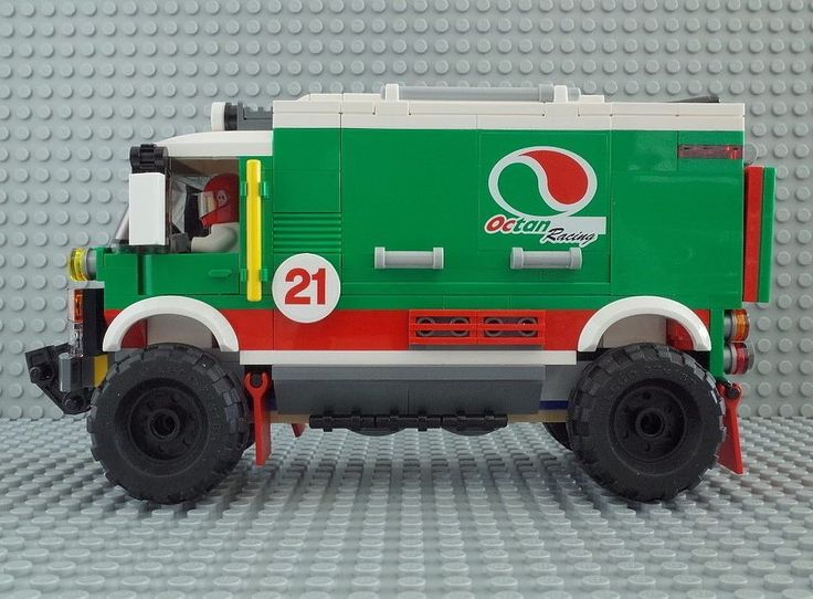 lego octan racing truck instructions