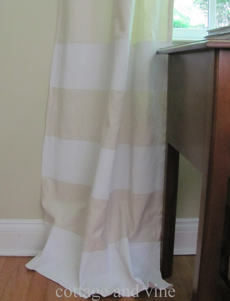 69 Best Drop Cloth Decor Images On Pinterest Drop Cloth