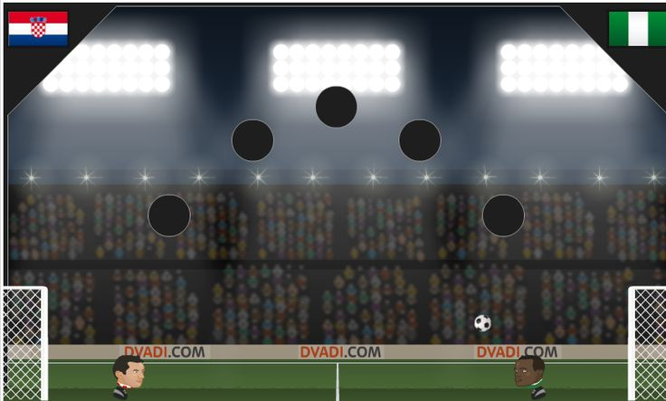 Football Heads World Cup game. You choose your team among 2014 World Cup tournament.