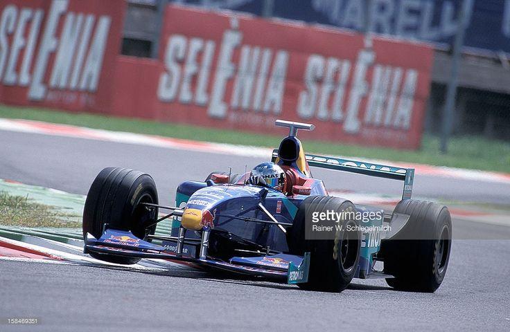 Jean Alesi of Sauber, Monza, Italy, 1998.