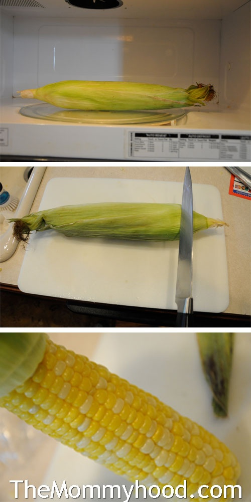 Just read that microwave corn in the cob is excellent. Found a pin, now just have to remember to try it this summer!