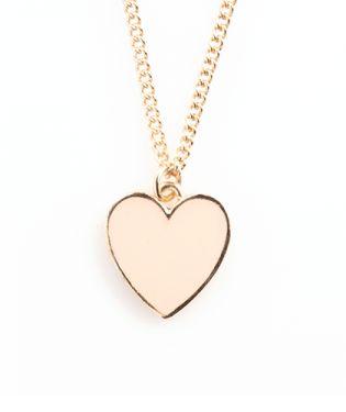 Ban.do Supercute Heart Necklace - Blush
