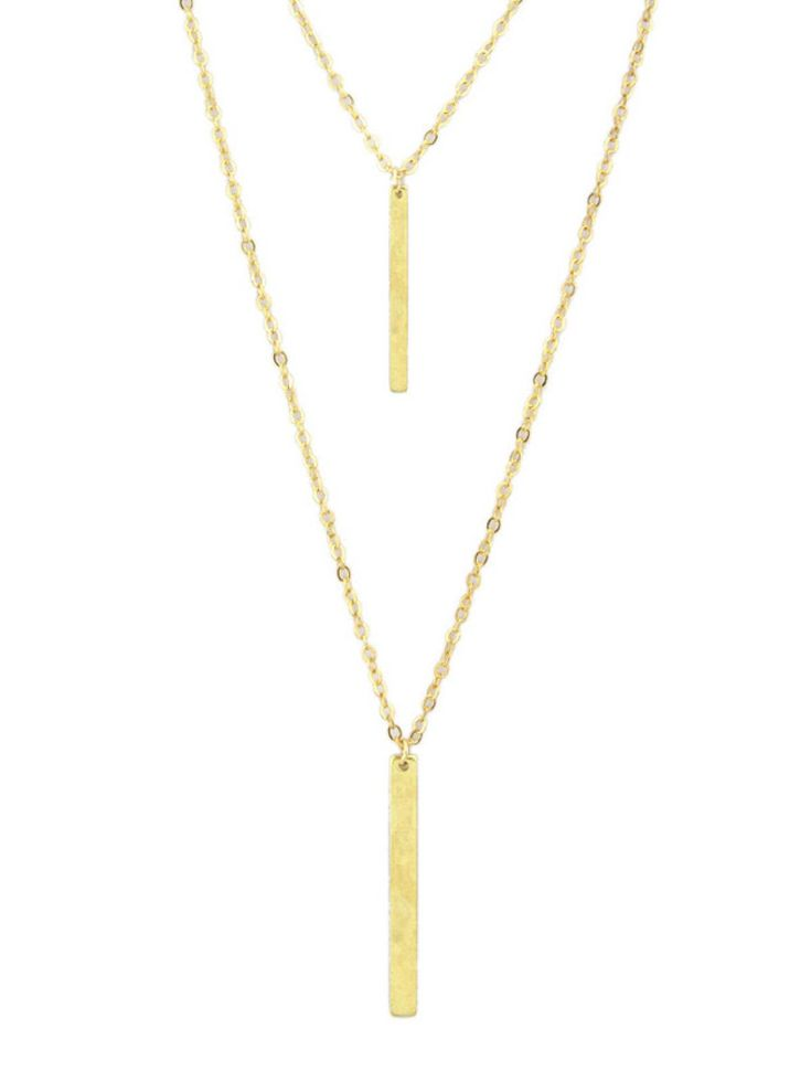 Gold colored metal. Y-Necks   Lariats
