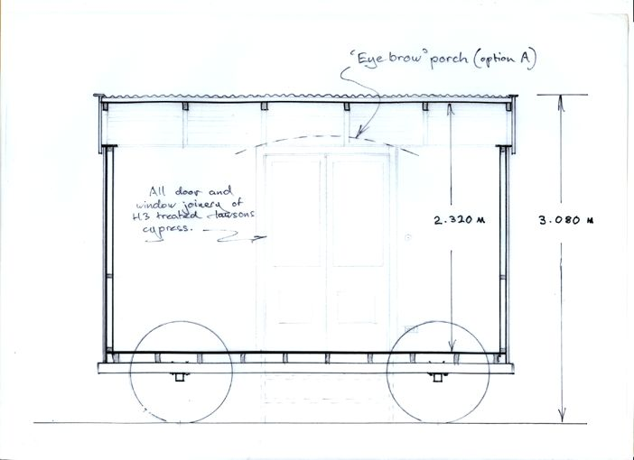 Width internal wide enough for the for A frame hut plans