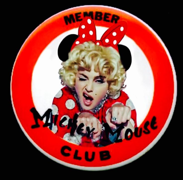 Mickey Mouse Club Madonna.