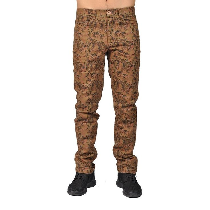 Dirty Robbers Camo Military Design Joggers Chino Pants