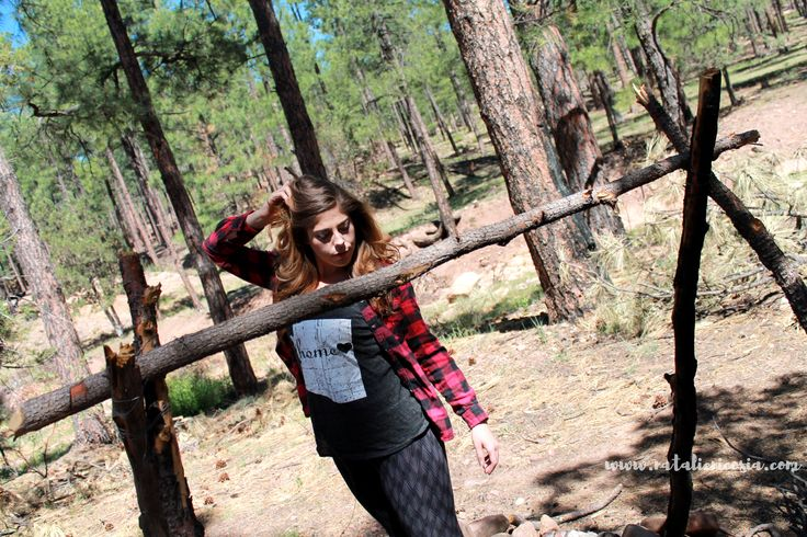 Fashion Outdoors Gear Hiking Outfit Natalie Nicosia Blog Hiking Fashion Blog Arizona Fashion optoutside how to dress in the forest Trail Fashion Red and Black Flannel Under Armour Shoes