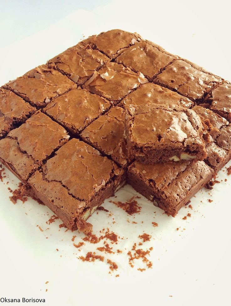 Кулинарные моменты: Брауни с грецкими орехами (Walnut Brownie)
