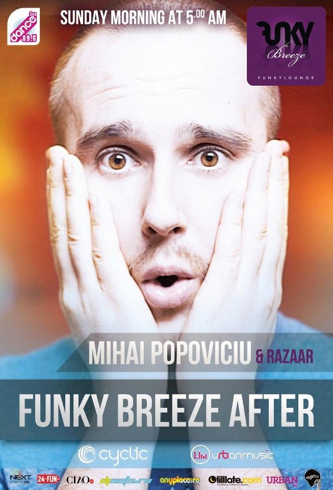 23/09 Sunday morning Mihai Popoviciu @ Funky Breeze Herastrau