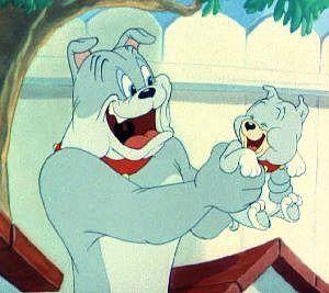 Spike and Tyke - Tom and Jerry cartoon
