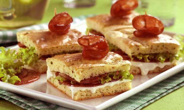 Receitas de sanduíches e lanches para o verão