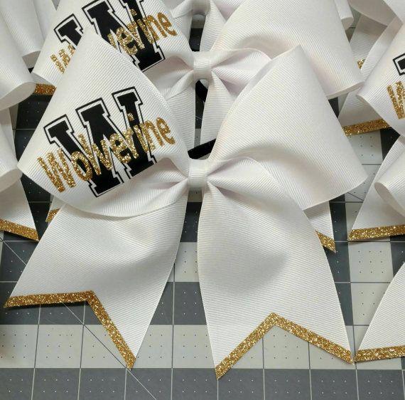 Custom cheer bow you pick colors team cheer bow big
