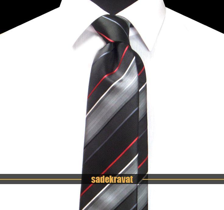 Siyah Kırmızı Beyaz Çizgili Kravat 3926 7,5 cm. Modern Orta Stil, Mikro Kumaş... www.sadekravat.com/siyah-kirmizi-beyaz-cizgili-kravat-3926 #kravat #kravatım #kravatlar #kravatmodelleri #2015kravat #erkekaksesuar #erkekmoda #ofis #örgükravat #yünkravat #ketenkravat #incekravat #ipekkravat #slimkravat #ortaincekravat #kravatmendilkombin #çizgilikravat #düzkravat #ekoselikravat #sadekravat #gömlek #ceket #tie #tieoftheday