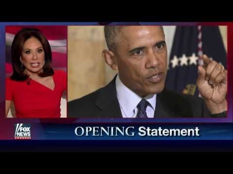 Judge Jeanine Slams Obama: 'Why Are You So Obsessed With Russia?' - YouTube
