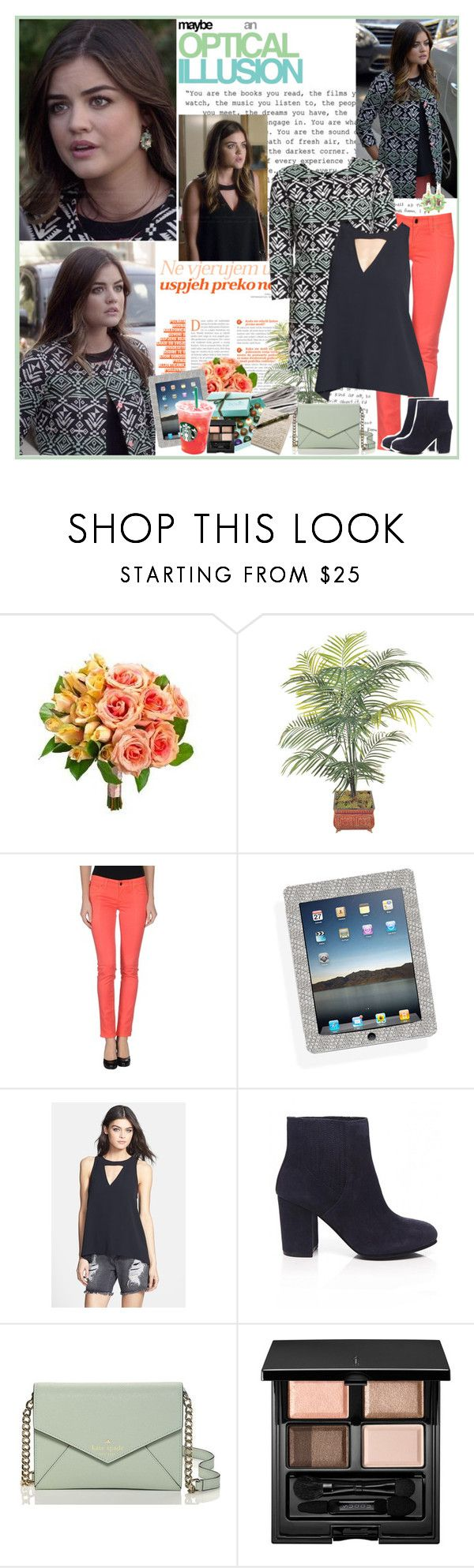 """""""Aria Montgomery"""" by mery90 ❤ liked on Polyvore featuring S.O.S By Orza Studio, Leith, Ash, Hostess, Kate Spade, SUQQU, OPTIONS, women's clothing, women and female"""