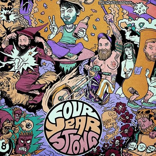 Four Year Strong - Four Year Strong Limited Edition Colored Vinyl LP + Download