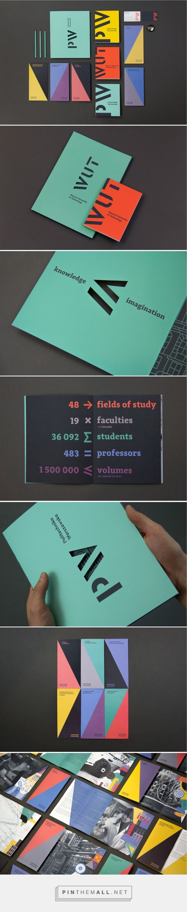 The Warsaw University of Technology Branding by Podpunkt | Fivestar Branding Agency – Design and Branding Agency & Curated Inspiration Gallery