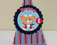 Caixa Pirâmide Urso Marinheiro