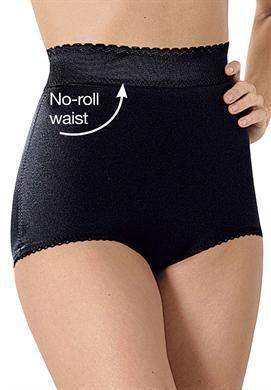 High waist tummy control brief by Rago®   Plus Size Shapewear   Woman Within