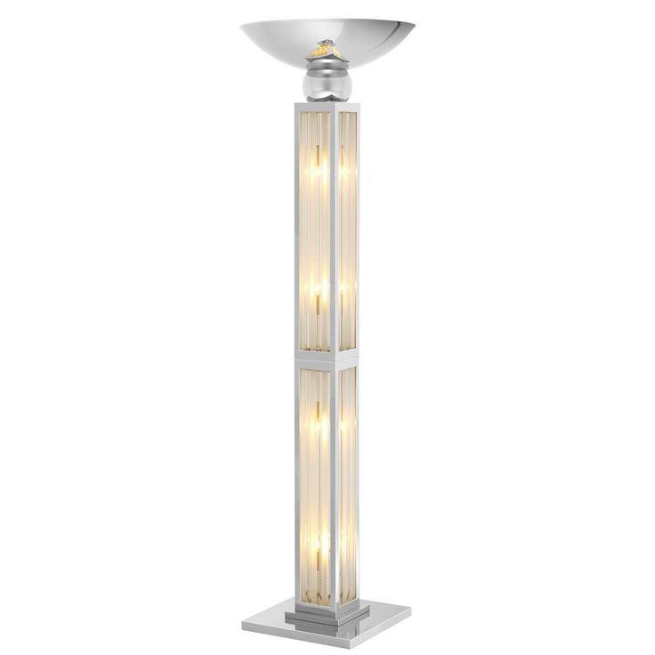 Silver Floor Lamp | Eichholtz Dorrell | OROA Modern & Luxury Furniture
