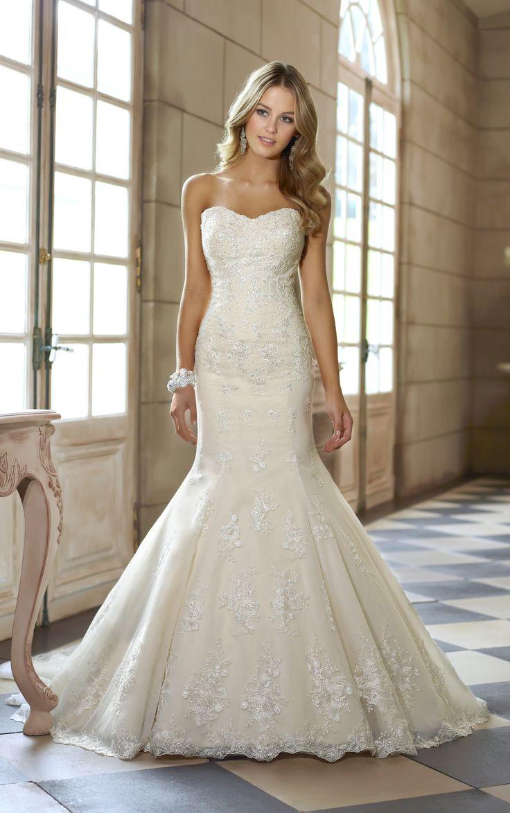 293 best Mermaid,Trumpet, Fit n\' Flare Wedding Dresses images on ...