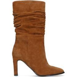 Mar 24, 2020 – Cognacfarbene Raffstiefel aus Veloursleder (36373839404142) ManfieldManfield #style #shopping #styles #ou…