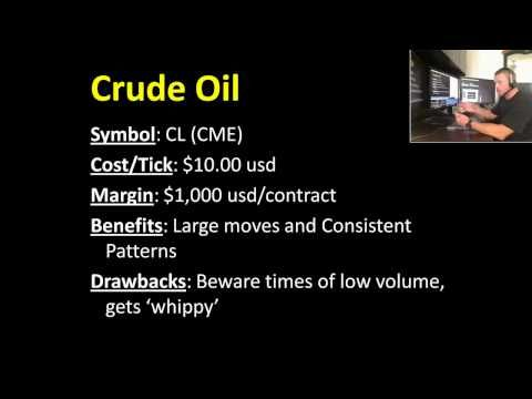 Crude Oil Futures Contract Specifications; tick value, margin requirements, round term commissions - YouTube