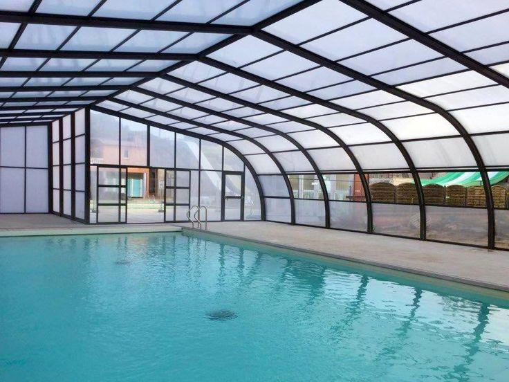 Abri de piscine fixe Camping Le Fréjus