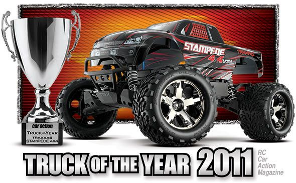 RC truck of the year. fast. furious. traxxas stampede 4x4. electric!