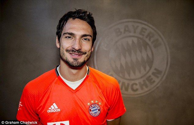 Bayern Munich defender Mats Hummels spoke to Sportsmail's Dominic King in Germany